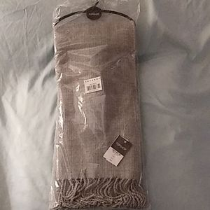 TopShop Women's Gray Scarf New/Never Opened!